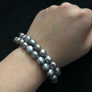 Set of 4 pearl bracelets, including Honora